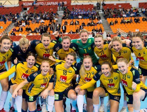 Sverige vann stort över Tyskland och slutar på en 7:e plats i VM