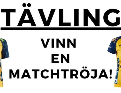 TÄVLING: Vinn en matchtröja