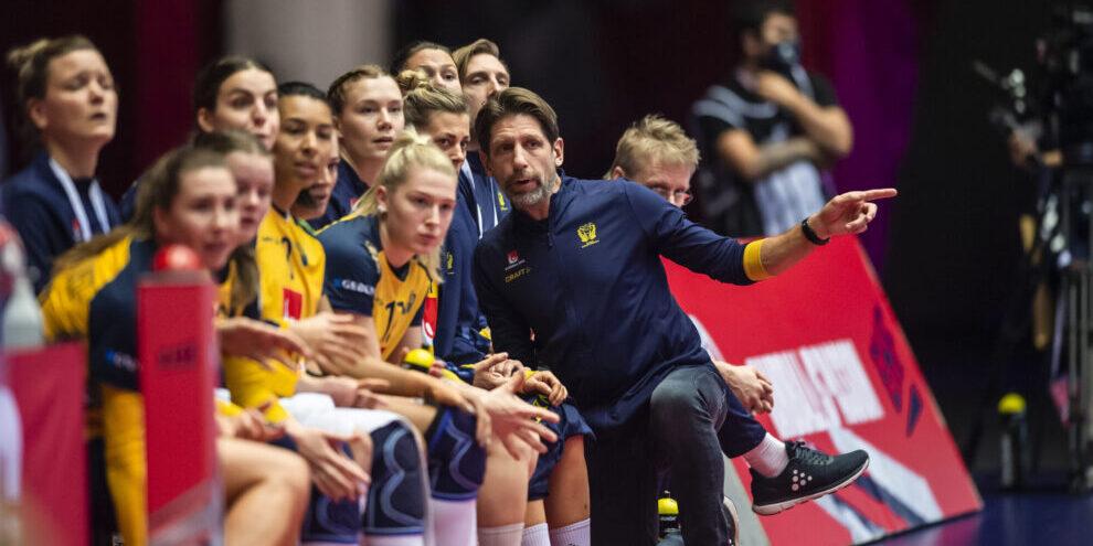 Tomas Axner och damlandslaget