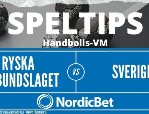 SPELTIPS VM 24/1: Ryska förbundslaget – Sverige