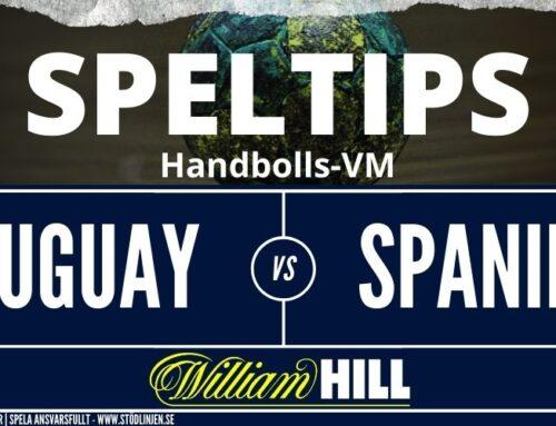 SPELTIPS VM 23/1: Uruguay – Spanien