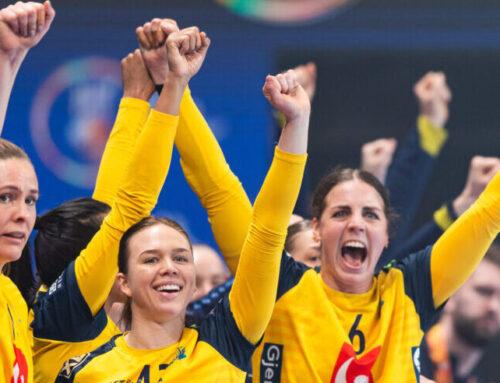 Sverige körde över Ukraina – stormar mot VM