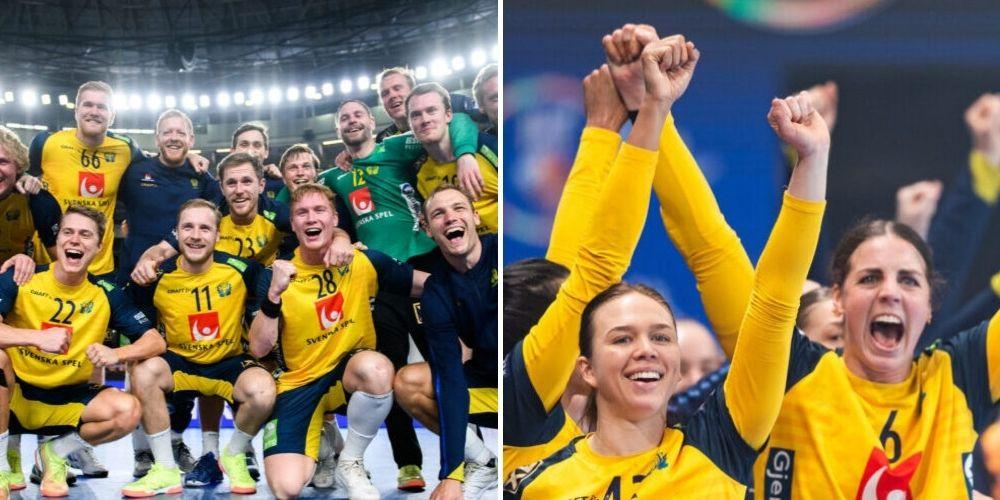 Svenska handbollslandslagen