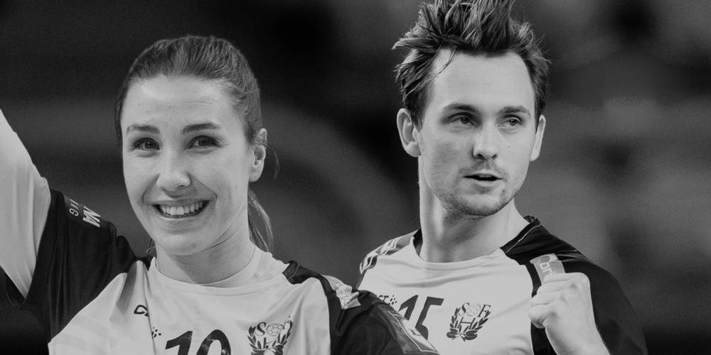 Anna Lagerquist och Hampus Wanne