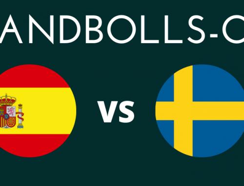 Var sänds Spanien och Sverige i Handbolls-OS?