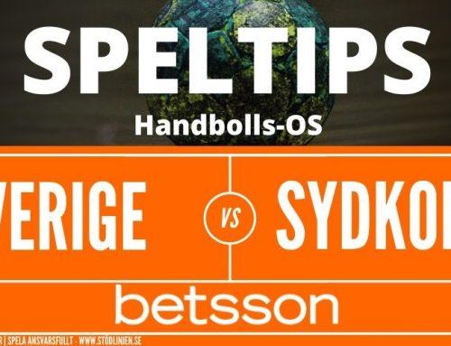 SPELTIPS OS | Kvartsfinal 4/8: Sverige – Sydkorea
