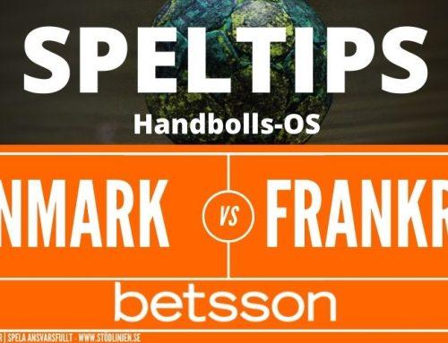 SPELTIPS OS | Final 7/8: Danmark – Frankrike